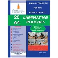 50 pack of laminating pouches
