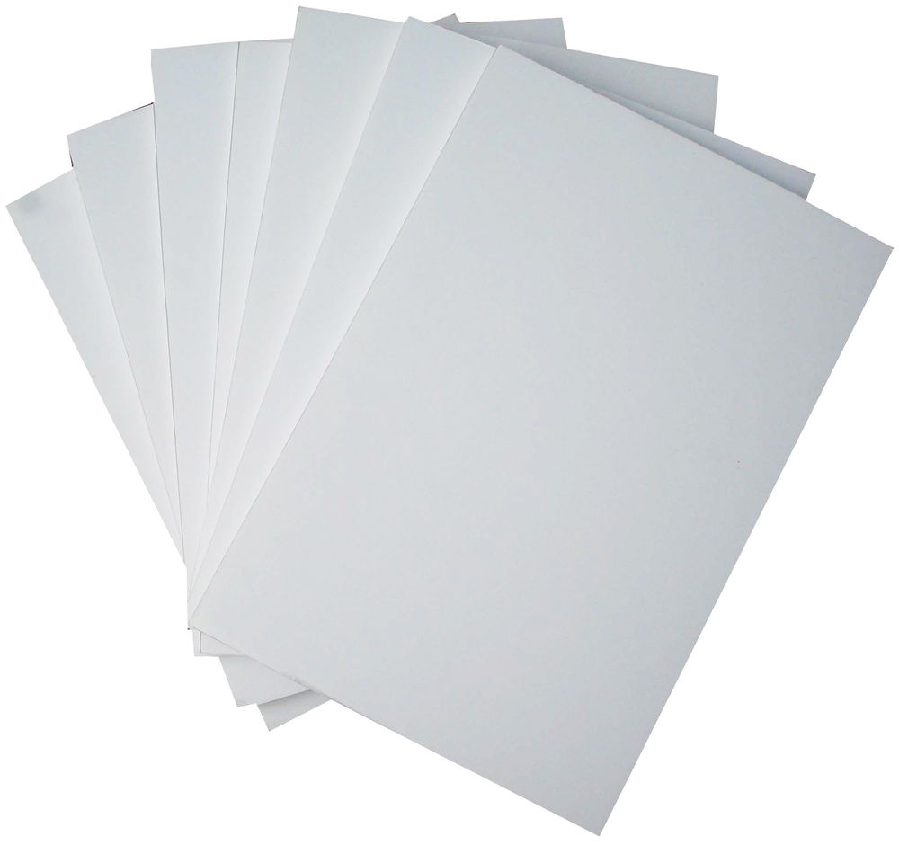 Foam Board A4 Black 5mm Thick Mount Board Sign Sheet Craft 210mm X 297mm